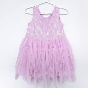 The Children's Place Sequins & Tulle Dress